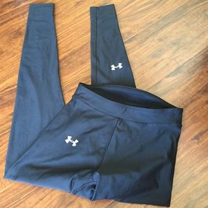 Under Armour black compression tights